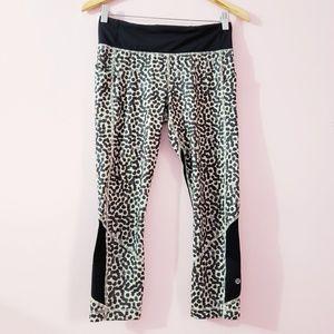 Lululemon Leopard Pace Rival Leggings Size 6